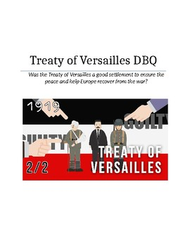 Treaty of Versailles (DBQ)