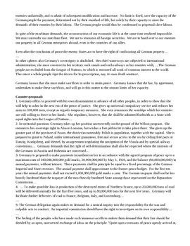 Treaty of Versailles Debate - Primary Source DBQs