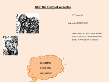 Treaty of Versailles Decision Making Game - Free PPT to go