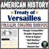 Treaty of Versailles Political Cartoon Analysis