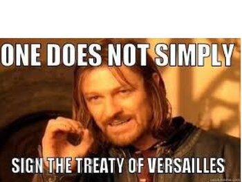 Treaty of Versailles PowerPoint