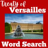 Treaty of Versailles | Worksheet Activity | France | World