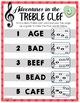 Treble Clef Adventure - Multi Pack Bundle Valentines, St. Patrick's, and Easter