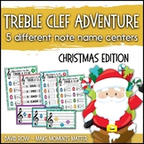 Treble Clef Adventure Pack for Small Groups or Centers- Christmas Edition