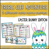 Treble Clef Adventure Pack for Small Groups/Centers Easter