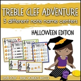 Treble Clef Adventure Pack for Small Groups or Centers- Ha