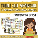 Treble Clef Adventure Pack for Small Groups or Centers- Th