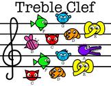 Treble Clef Animals
