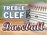 Treble Clef Note Reading: Interactive Baseball PowerPoint Game