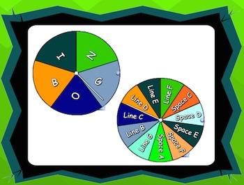 Treble Clef Bingo! SMART Software Edition
