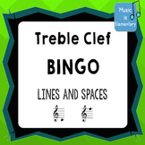Treble Clef Bingo! SMART Software Edition