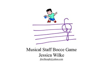 Treble Clef Bocce: An Active Way to Practice Note Names