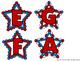 Treble Clef Bulletin Board - Star Spangled Staff