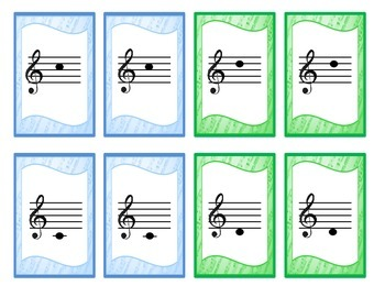 Treble Clef Card Game