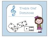 Treble Clef Dominoes