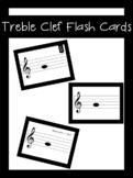 Treble Clef Flash Cards | LCI Movement