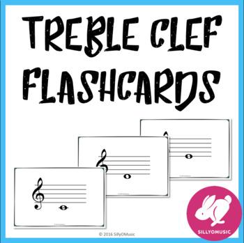 Free Treble Clef Flashcards