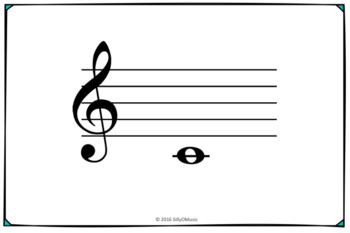 image about Printable Musical Note Flashcards named Freebie! Treble Clef Flashcards Cost-free
