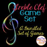 Treble Clef Game Set {A Bundled Set of Interactive PDFs, Games & Worksheets}