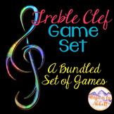 Treble Clef Game Set {A Bundled Set of Interactive PDFs, G