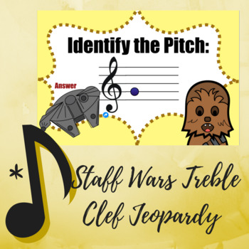 "Treble Clef Jeopardy Game - ""Star Wars"" Edition"