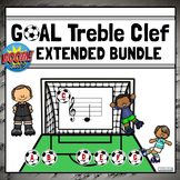 Treble Clef Note Names Games   Boom Cards - EXTENDED MINI-BUNDLE
