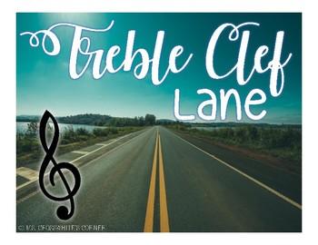 Treble Clef Lane