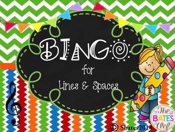 BINGO Treble Clef Line/Space