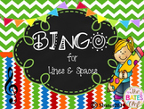 BINGO Treble Clef Line/Space