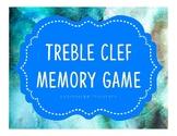 Treble Clef Memory Match Game