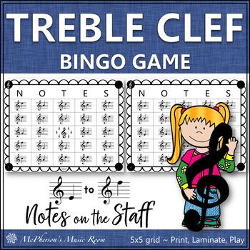 Musical bingo set