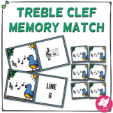 Treble Clef Music Memory Game