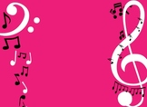 Treble Clef Music Note Clues for line and space notes!