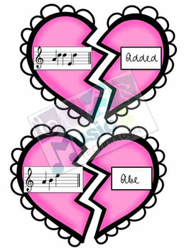 treble clef music note spelling valentine 39 s day by music and technology. Black Bedroom Furniture Sets. Home Design Ideas
