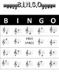 Treble Clef Note Bingo