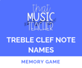 Treble Clef Note Name Memory