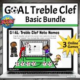 Treble Clef Note Name Games   Boom Cards BASIC MINI-BUNDLE