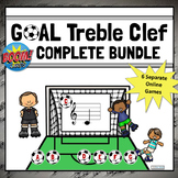 Treble Clef Note Names Games | Boom Cards COMPLETE BUNDLE