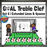 Treble Clef Note Names Games   Boom Cards Set 6 - EXTENDED