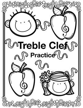 Treble Clef Note Practice