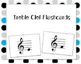 Treble Clef Pitch Flashcards