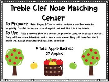Treble Clef Pitch Matching Center