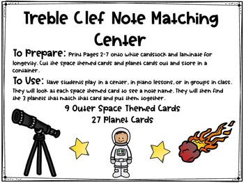 Treble Clef Pitch Matching Center