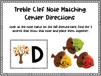 Treble Clef Pitching Matching Center