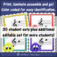 Treble Clef Music Game with or without ledger lines {Post Office}