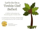 Treble Clef Safari: Games, Activities & Worksheets for Tea
