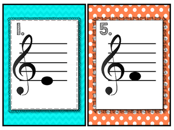 Treble Clef Scavenger Hunt