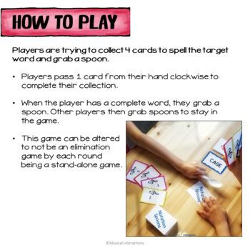 Treble Clef Spoons Game