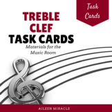 Treble Clef Task Cards