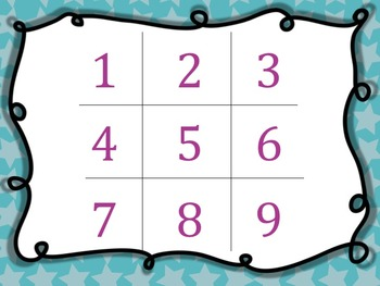Treble Clef Tic Tac Toe Games: 4 letter Words